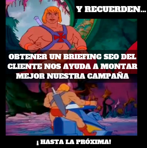 briefing seo conclusiones