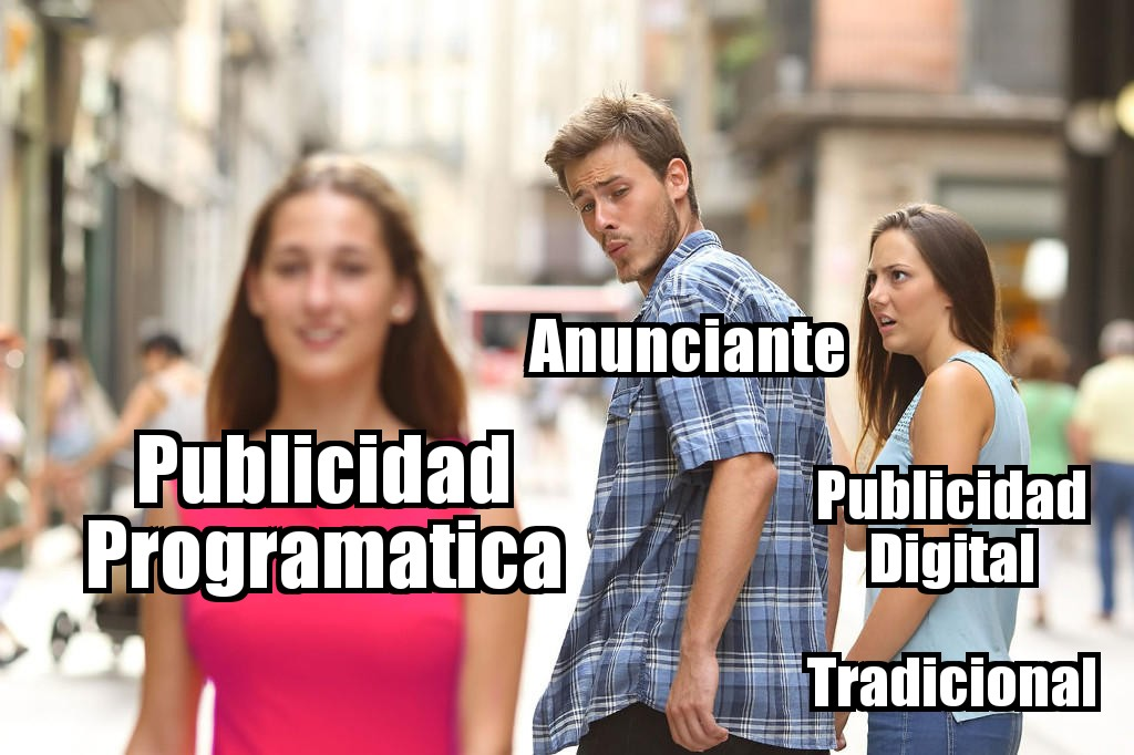 Publicidad programática meme