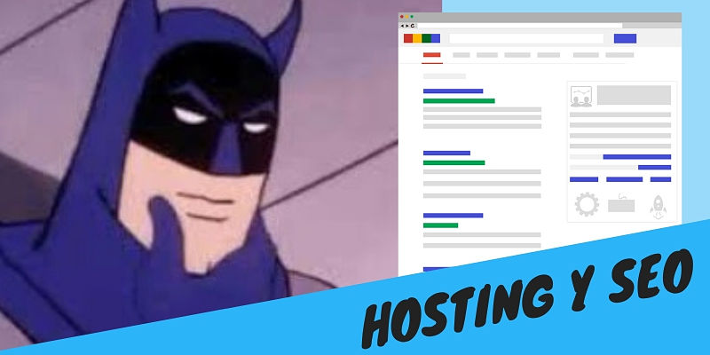 Cómo afecta el Hosting al SEO de tu página web