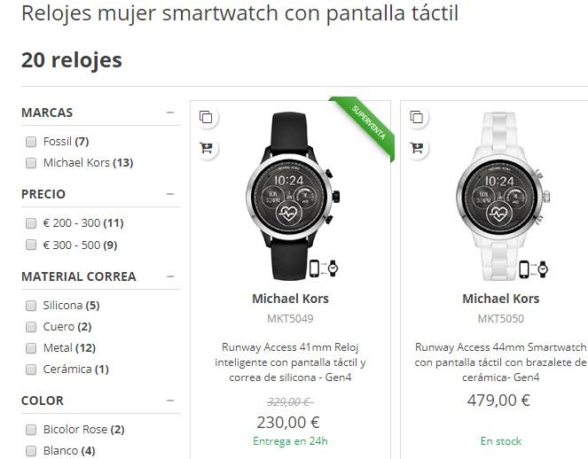 relojes inteligentes tienda online