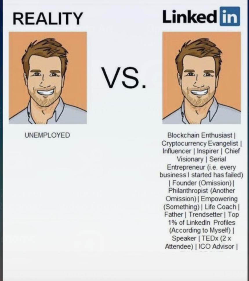 linkedin realidad perfil profesional