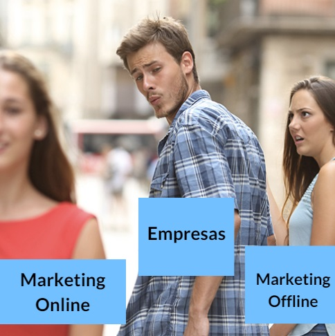 marketing online versus marketing offline