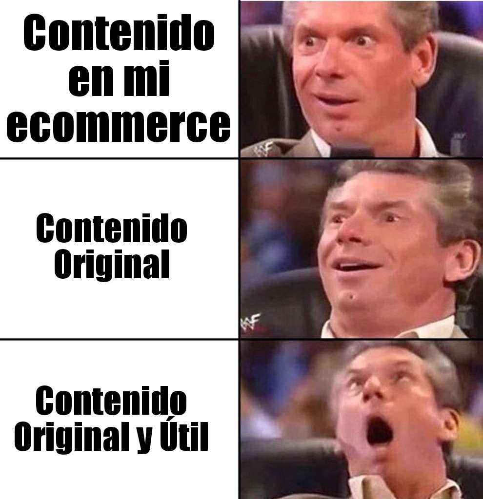 contenido ecommerce