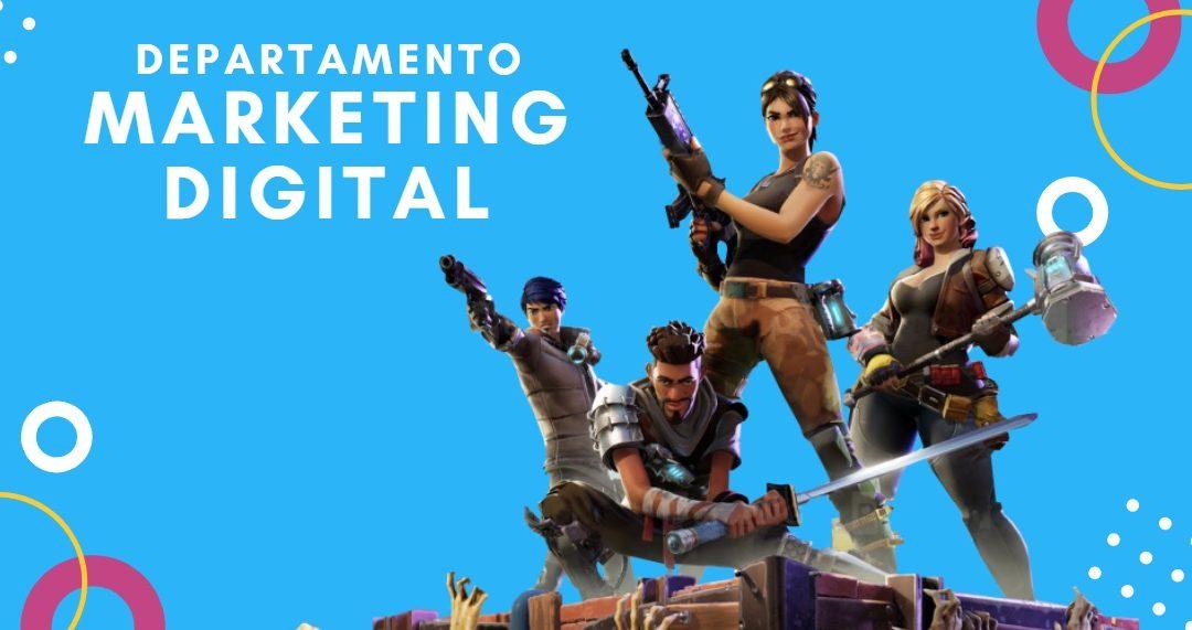 La estructura para un Departamento de Marketing Digital