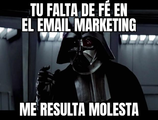 meme efectividad email marketing
