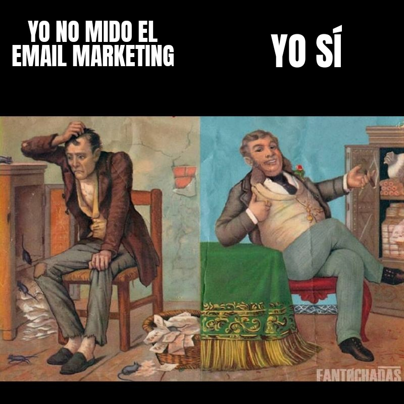 meme analitica email marketing