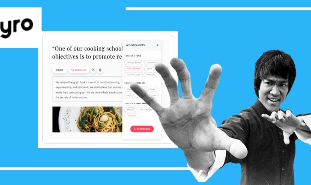 Como crear una página web de pequeña empresa fácil con Zyro