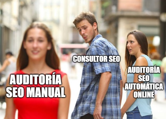 auditoria seo manual versus automatica online