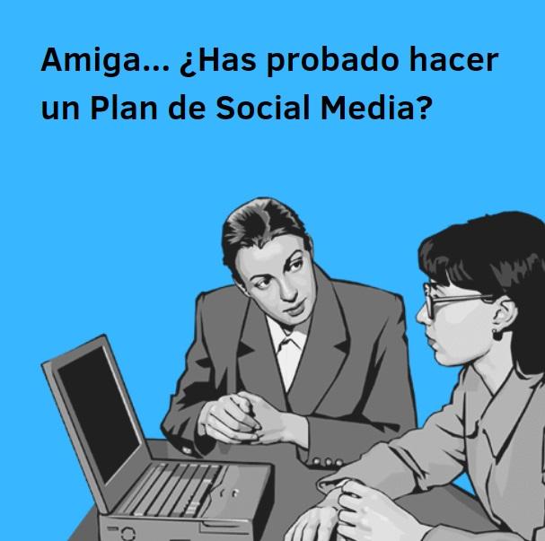 plan de social media meme