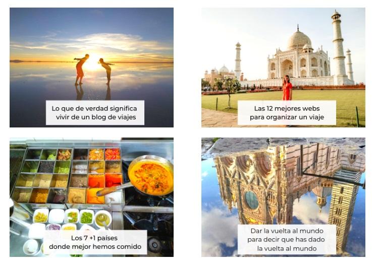 aprendizaje viajero categorias seo