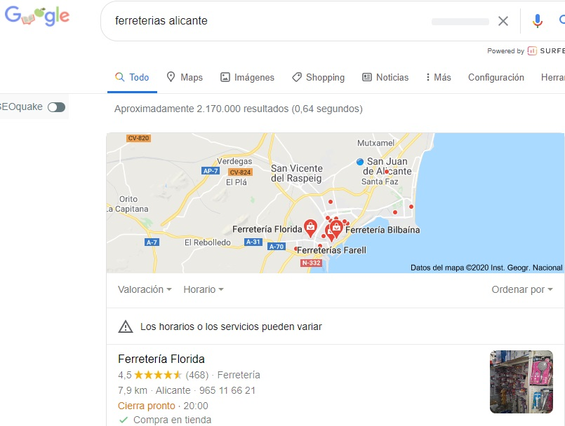 google local my business