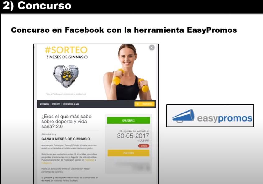tactica campaña concurso easy promos