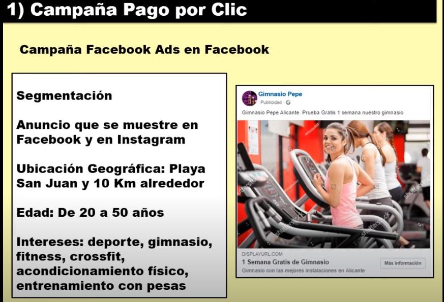 tactica campaña facebook ads