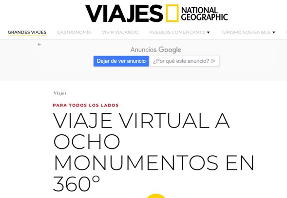 contenidos viajes virtuales