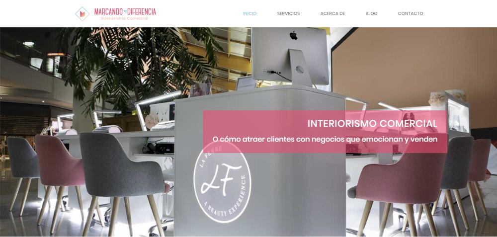 Entrevista Caso de Éxito: Marcando la Diferencia, Web de Interiorismo Comercial