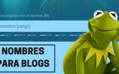 80 Nombres de Blogs para inspirarte y generar el tuyo propio