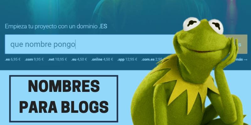 80 Nombres de Blogs Creativos para inspirarte y generar el tuyo propio