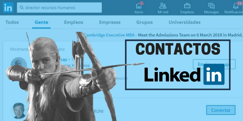 Solicitar contactos linkedin portada 2