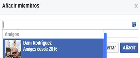 añadir miembros grupo facebook