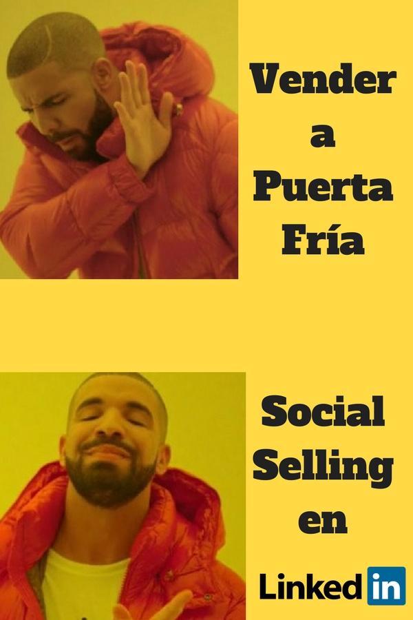 a drake le gusta el social selling en linkedin