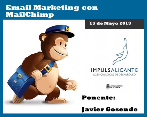 "Charla ""Cómo usar Mail Chimp en el Email Marketing"" en Alicante"