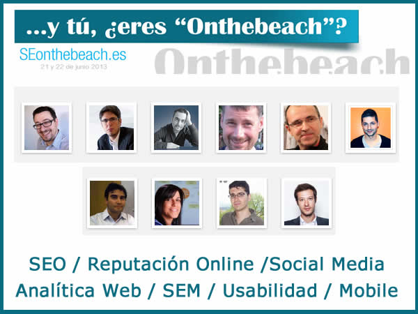SEOontheBeach: Congreso de Marketing Online en la Playa