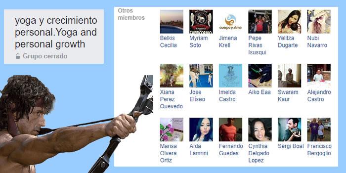cazando usuarios en grupos de facebook