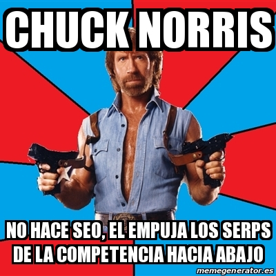chuck norris no hace seo
