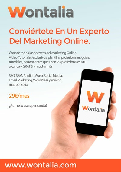 Wontalia: Conviértete en un experto en marketing online a tu ritmo