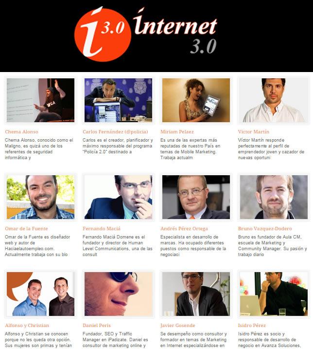 3a edición del Congreso Internet 3.0