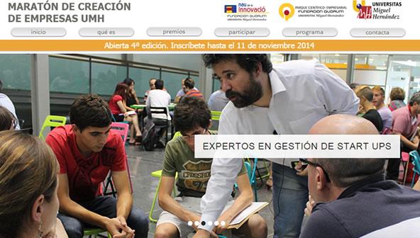 Maratón de Creación de Empresas en la Universidad Miguel Hernández de Elche