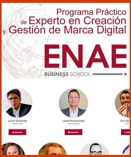 Profesor en el Programa de Marca Digital del ENAE Business School