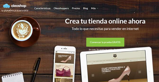 oleshop creador tiendas online