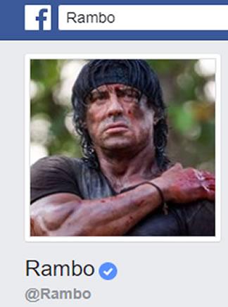 rambo perfil personal facebook