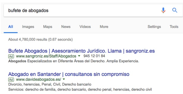ver anuncios de google adwords para ideas de ctr