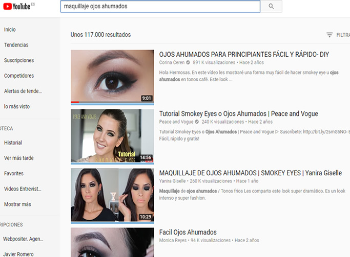 videos mejor posicionados youtube